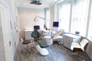 A Dental Practice Relocation Refurbishment with 9 Surgeries and 5 floors