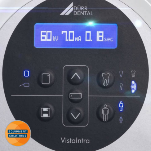 Durr Vistaintra X-ray has clear pre-sets for easy use
