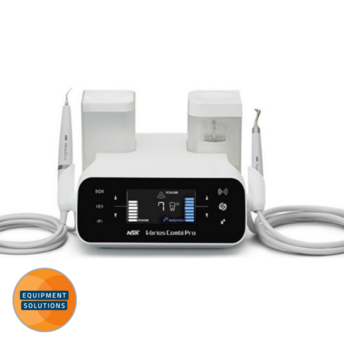 NSK Varios Combi Pro offers two dental maintenance systems in one.