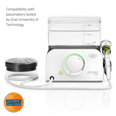 W&H Proxeo Piezo Scaler has a wireless foot control for improved ergonomics.