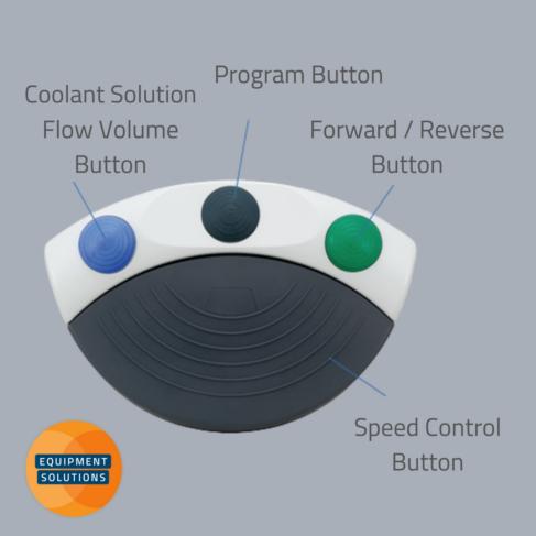 NSK Surgic Pro Implant Unit foot pedal controls.