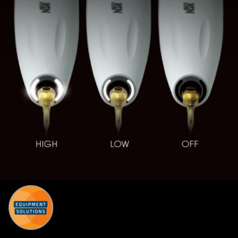 NSK VarioSurg 3 offers three light intensity settings.