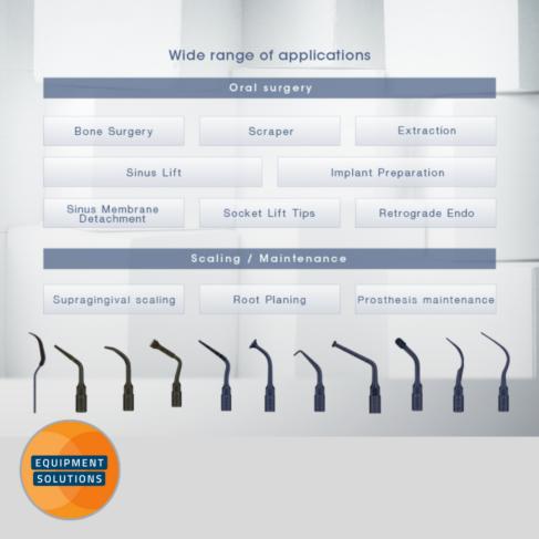 NSK VarioSurg 3 supports a range of dental surgical procedures.