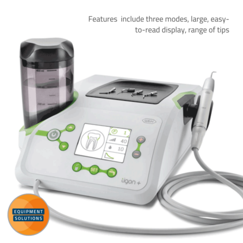 The W&H Tigon Plus is a compact table top piezo system.