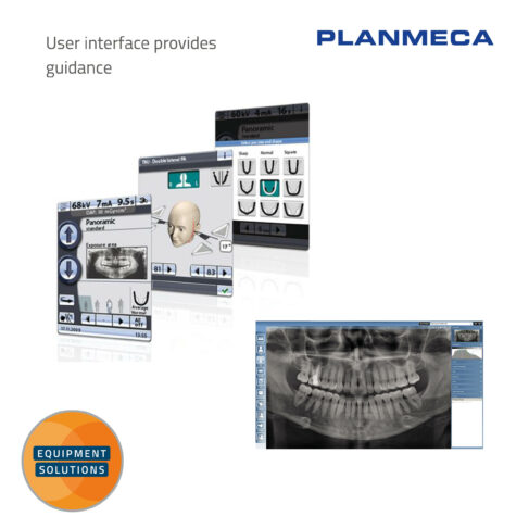 Planmeca ProOne OPG works alongside the easy to use Romexis software