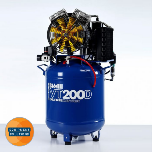Bambi VT200 D oil-free Compressors with dryer