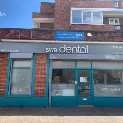SW9 Dental Exterior with Shutters Up