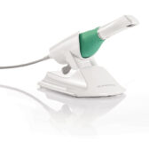 Planmeca Emerald S Intraoral Scanner sat in its holder