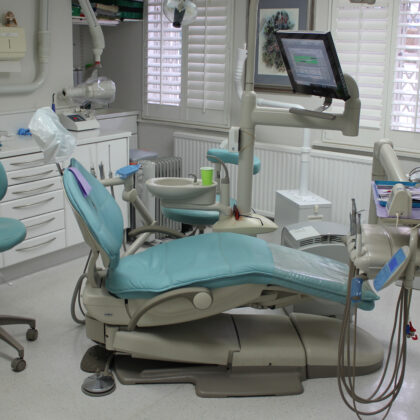 The original A-dec 500 Dental Chair