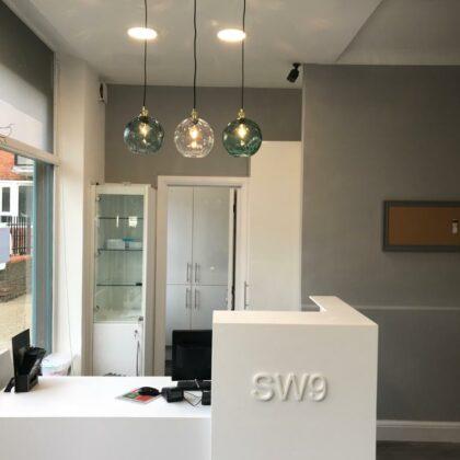 SW9 Bespoke Reception Desk