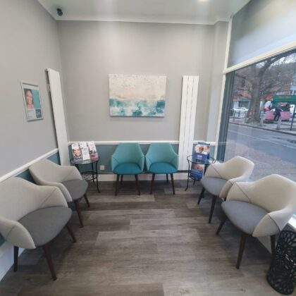 SW9 Dental with Made.com chairs
