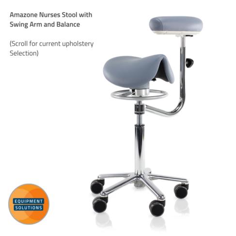 Score Amazone Nurses Saddle with Swing Arm