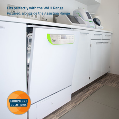 W&H Teon Washer Disinfector fits perfectly with the W&H Sterilisation range of products