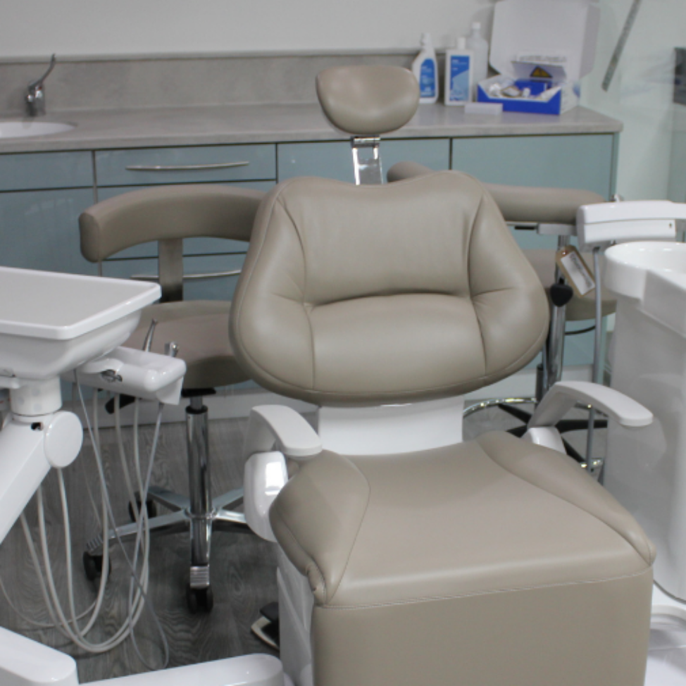 Dental Equipment Showrooms with Belmont Cleo IIE and cabinetry