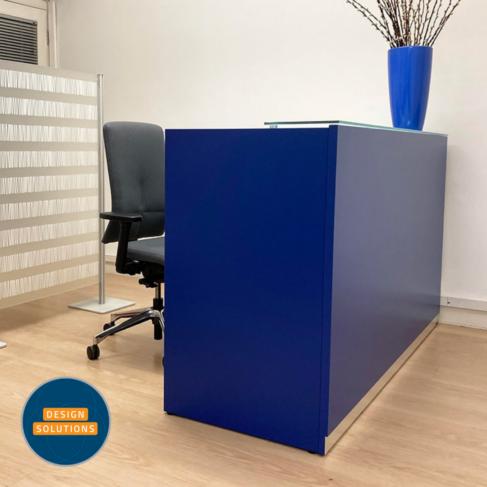 The Bengentile Reception Desk in Blue