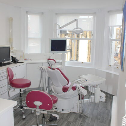 Surgery two set up of Belmont Cleo IIE at Heffernan Dental Specialists