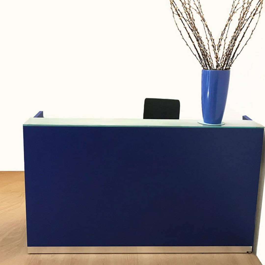 The Bengentile Reception Desk offers a simple yet quality option for your front of house