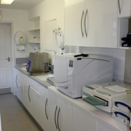 Decontamination Room Design with build and equipment