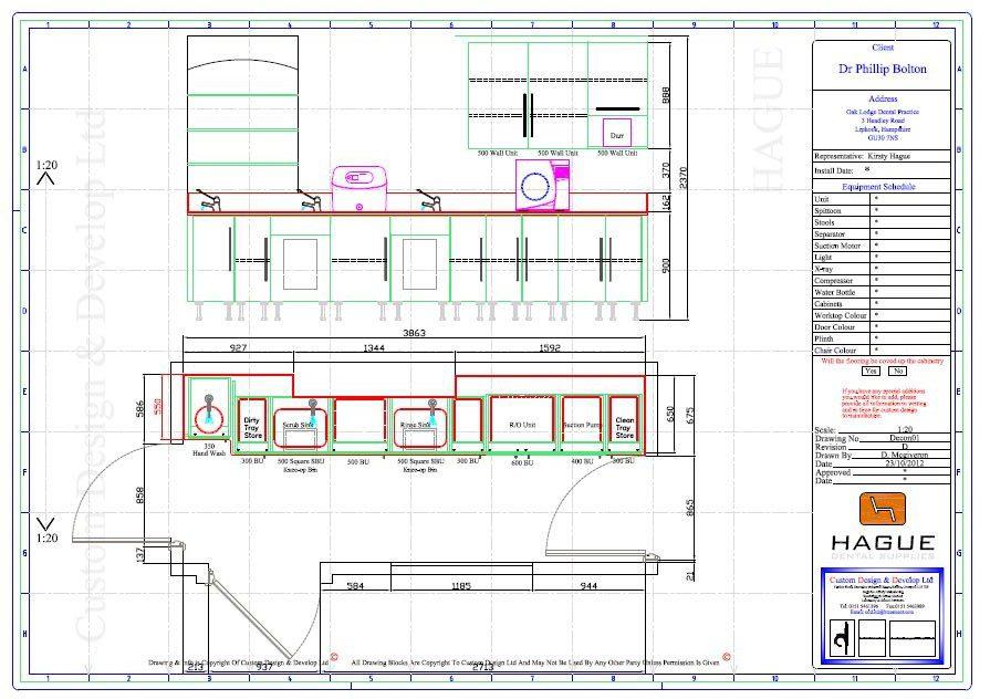 Decontamination Room Design Plans and Concepts