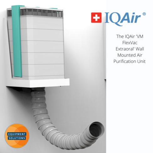 Cleanroom 250 IQAir Air Purifier has a wall mounted option