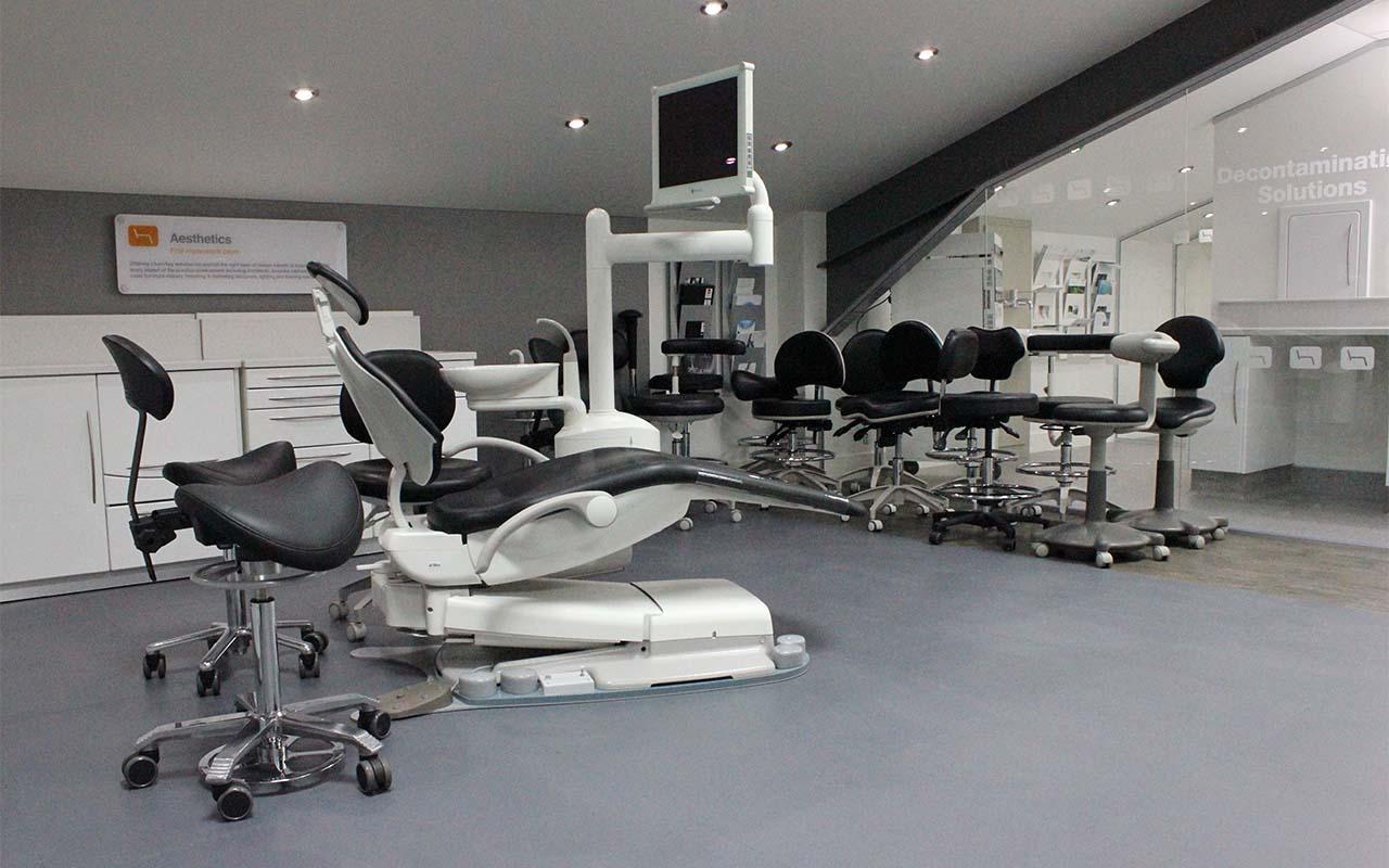 Dental Stool Range in Hague Dental showroom