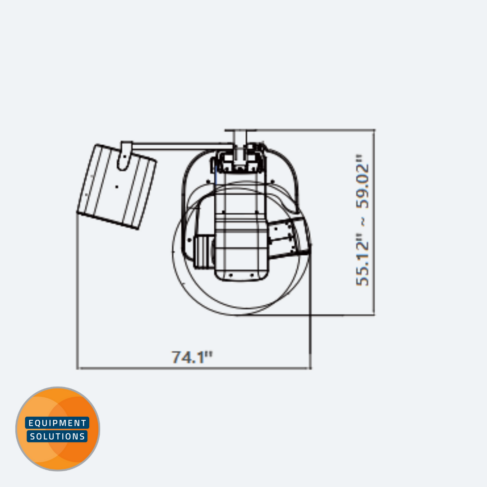 Vatech PaX-i3D Smart dimensions
