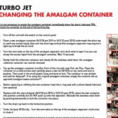 How to change the amalgam pot on a Cattani Turbo Jet Compact