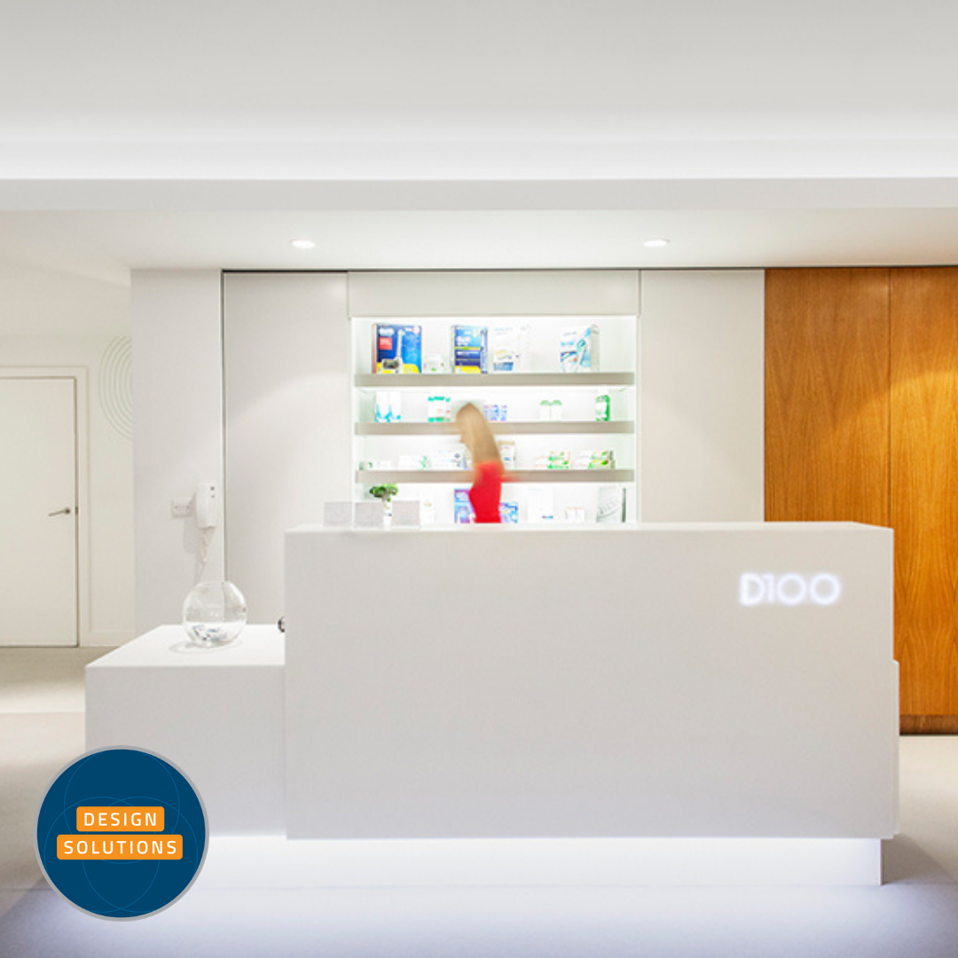 Dental Practice Design and refurbishment for a stunning space in the Barbican London