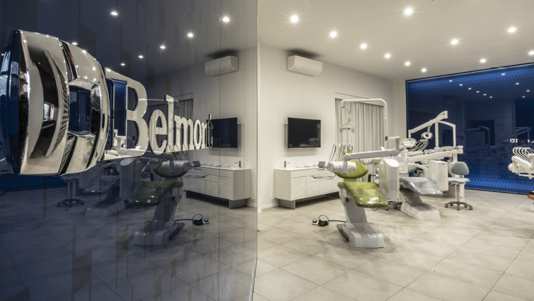 Experience the Belmont Dental equipment range in our showrooms