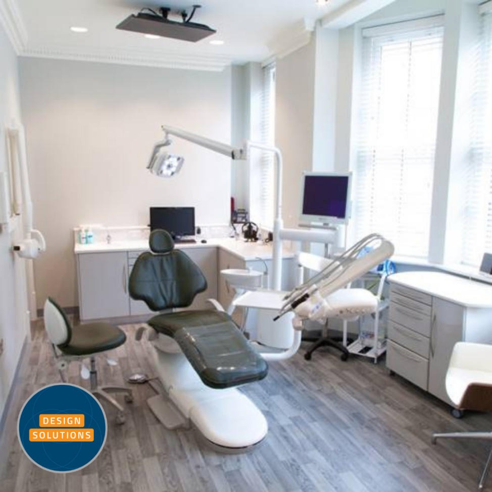 Dental Practice Design for a large leading Harley Street Practice