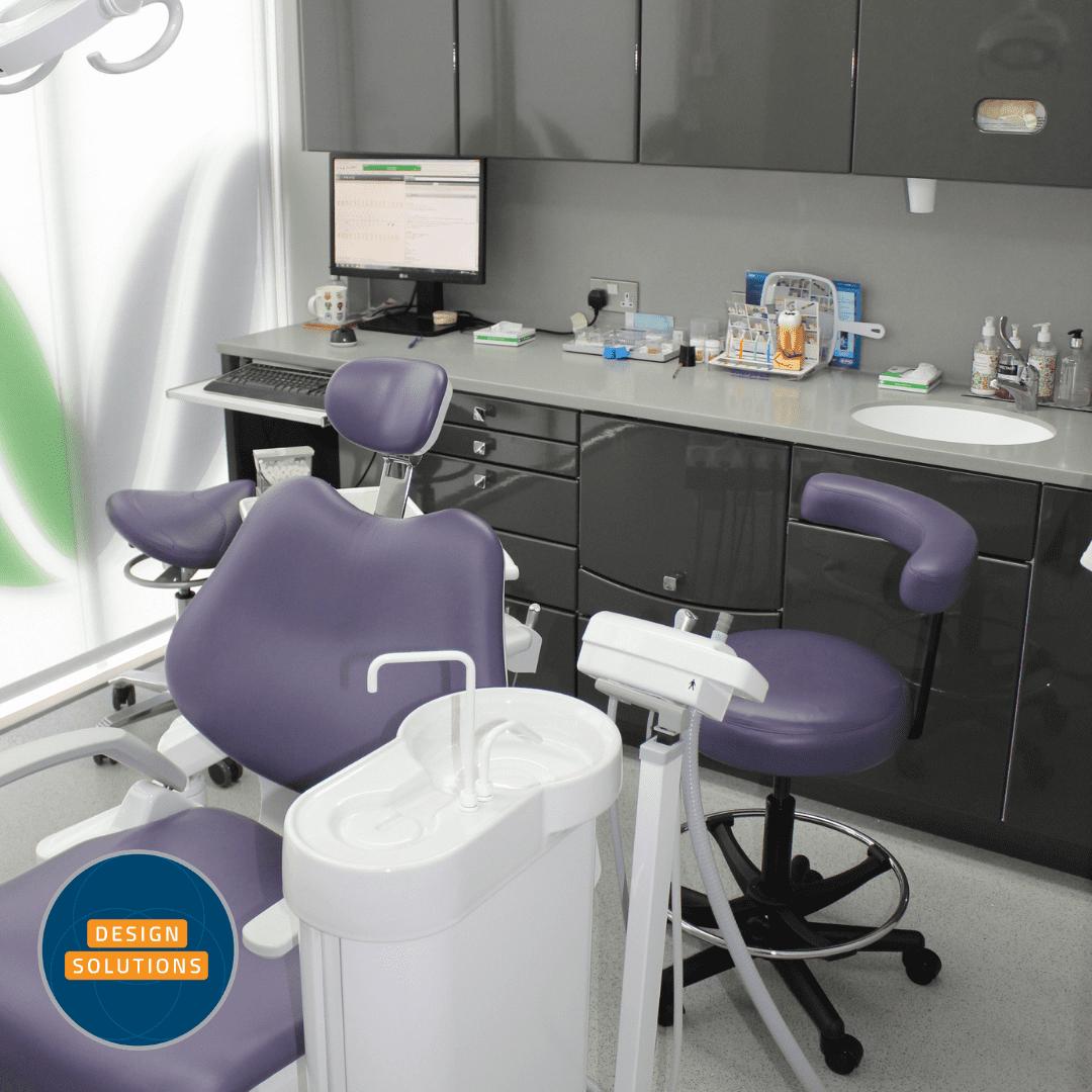 Dental Practice Design and Dental Surgery Design sit side by side