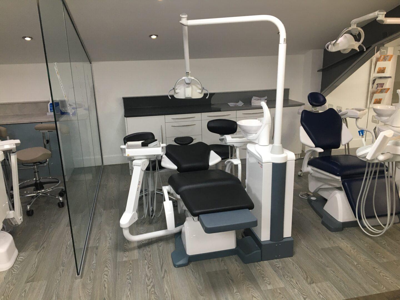 Fedesa dental chairs in the Hague Dental Supplies Showroom
