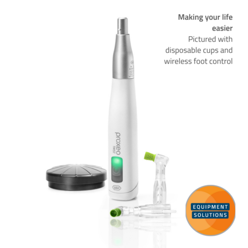 Proxeo Twist Cordless with wireless foot control and disposable cups