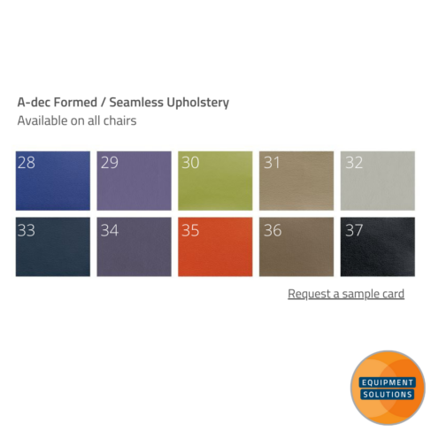 A-dec Seamless Upholstery Options