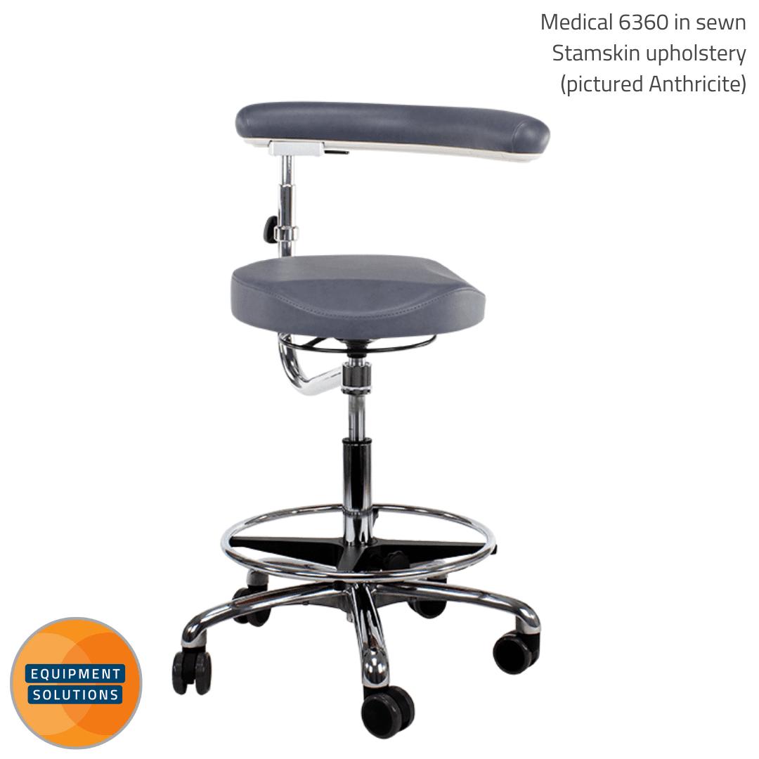 Score Dental Medical 6360 Ergo Shape Stool