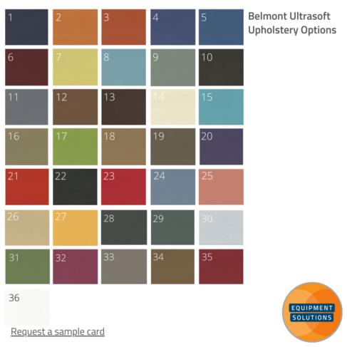 Belmont Ultrasoft Upholstery Options